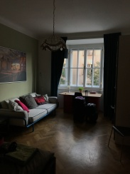 My apartment in Prague for the month!