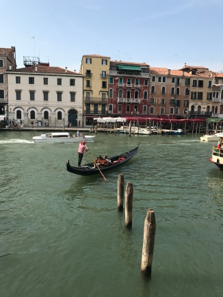 Gondolas. Gondolas everywhere!!